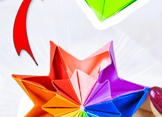 Бумажная игрушка АНТИСРЕСС трансформер из сердечек